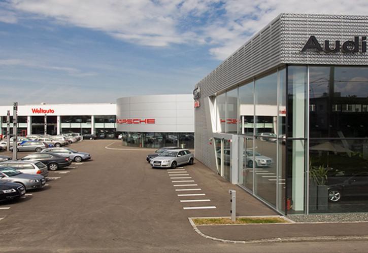 Autohaus Audi, Porsche